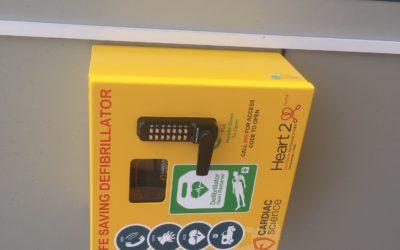 Our second defibrillator…